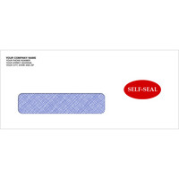 DacEasy,Compatible Envelope,Self-Seal,Envelope,Single-Window