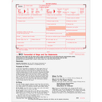 Transmittal,W2 Forms,Tax Forms