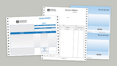 Credit Card Memos, Sales Receipts and Orders