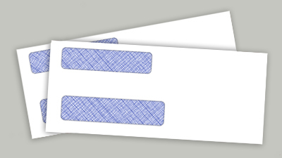 Double-Window Envelopes