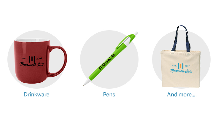 Promotional Products for Sage Users. Drinkware, pens, and more.