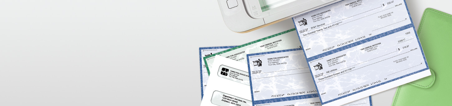 Save 10% on check bundles. Purchase laser computer checks and envelopes together and save 10%. Use promo code 18PTBN10. Expires July 31, 2018. - Shop Checks