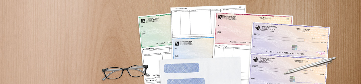 Save 15% on security bundles. Get 15% off orders that include both high-security checks and security-tinted envelopes. Use code 20SEC15. Expires 4/17/2020. - Shop Checks